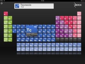 La tabla periódica en tu dispositivo iOS