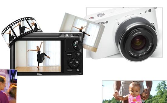 Nikon v1 y j1 Nikon presenta sus novedosas cámaras Evil V1 y J1