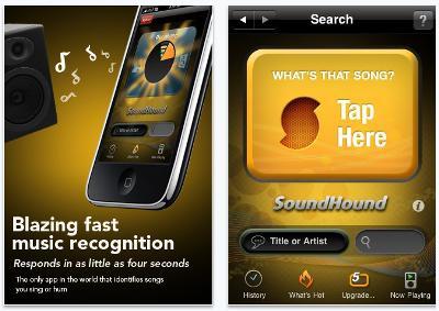 ¿Cómo se llama esa canción? SoundHound lo sabe - SoundHound-App