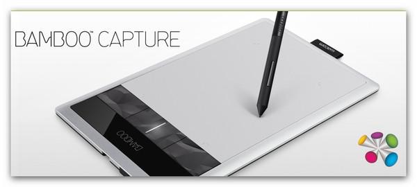 bamboo capture Wacom presenta sus nuevas tabletas de la línea Bamboo