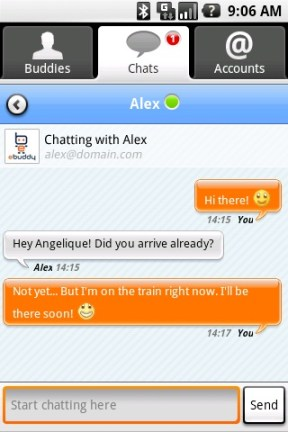 chat screen scr1 eBuddy, la aplicación definitiva para chat en Android