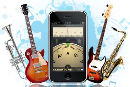 Afina tu guitarra con la ayuda de tu iPhone con Cleartune - cleartune