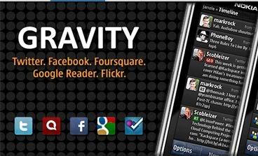 Gravity, cliente de redes sociales para Symbian - gravity-symbian