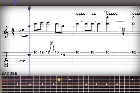 Mejora tu técnica en la guitarra con Guitar Pro - guitar-pro-ios