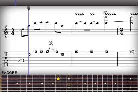 guitar pro Edita tus partituras con Guitar Pro para iPad