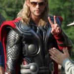 Fotos y videos de la grabación de The Avengers