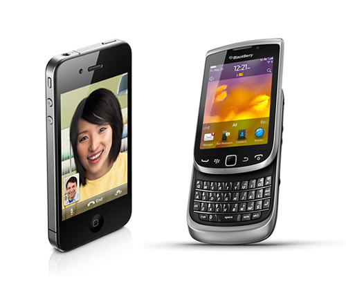 Blackberry y iPhone los más vendidos en MercadoLibre - iphone-blackberry