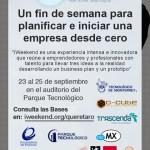 iWeekend Querétaro, tómate el fin de semana emprendiendo con tecnología - iweekend-queretaro-2011-poster