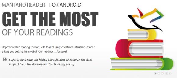 Tus libros y novelas con Mantano Reader para Android - mantano-reader