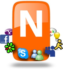 nimbuzz Chatear en tu celular con Nimbuzz