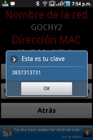 Obtener claves Wifi para Android - pull-wifi-redes