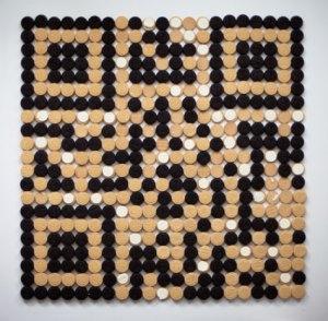 Qreo, un código QR elaborado con galletas
