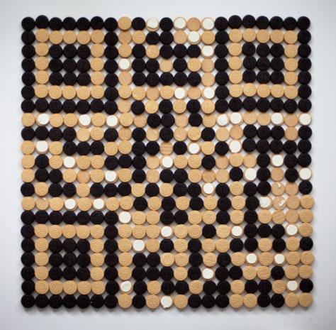 Qreo, un código QR elaborado con galletas - qreo