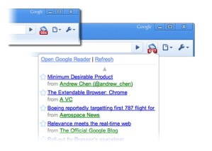 Notificador de Google Reader para Chrome
