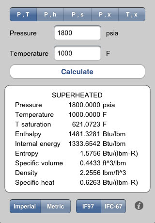 steam para ios Steam para iOS, una App para ayudarte en termodinámica