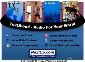 Obtener audio a partir de texto con Textaloud