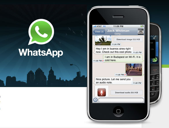 WhatsApp Messenger, un excelente cliente de mensajería instantánea multiplataforma - whatsapp