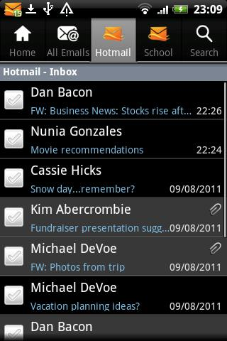 Microsoft publica Hotmail para Android