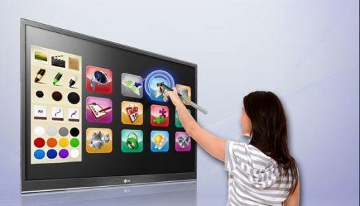 Lg presenta un televisor touch llamado Pentouch TV - LG-PenTouchTV