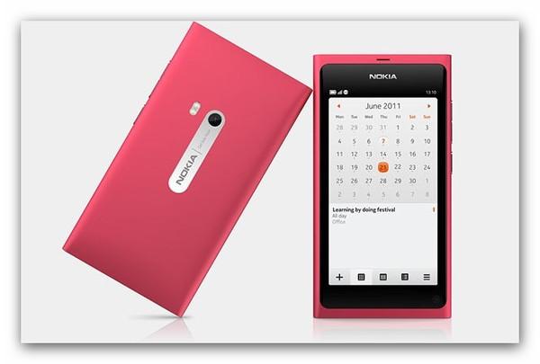 Nokia N9 Pink 5 smartphones que toda mujer desearía tener