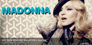 Concierto de Madonna online gratis en MSN