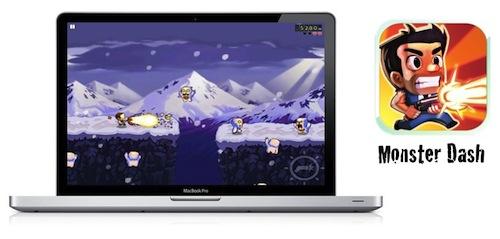 Monster Dash, un excelente juego dentro de la Chrome Web Store [Reseña]