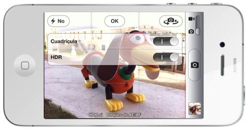 iOS 5: Como aprovechar la mejoras de la cámara en tu iPhone - hdr-iphone-activar