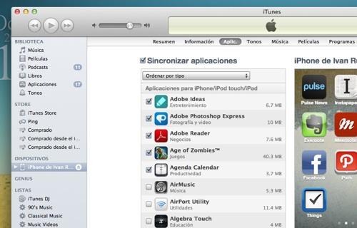 itunes carpeta aplicaciones Añade el logo de Apple a tus carpetas de iOS