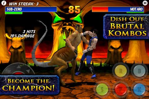 mortal kombat iphone Clásicos juegos de pelea para iPhone