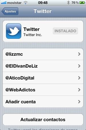 Como importar tus cuentas de Twitter desde Tweetbot en iOS 5 - twitter-ios5