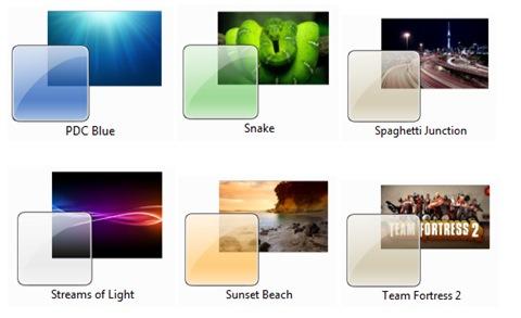 Tres nuevos y sorprendentes temas para Windows 7