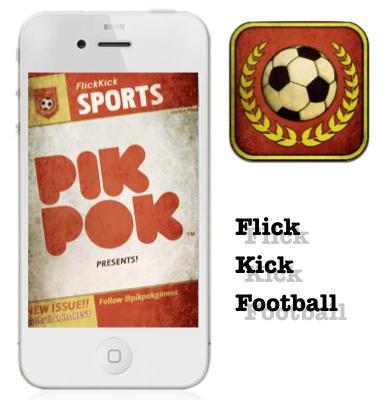 Flick Kick Football, anota los mejores goles en tu iPod [Reseña]