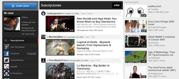 Como activar la nueva interfaz de Youtube al instante - Nueva-interfaz-youtube