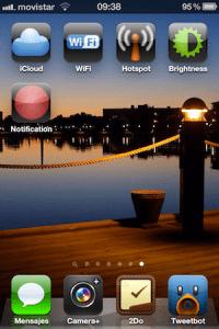 Agregar accesos directos de los ajustes de tu iPhone, iPod o iPad en tu pantalla de inicio