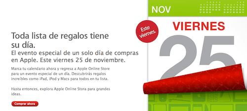 descuentos apple 25 noviembre Apple da a conocer su venta especial por temporada, será este viernes 25 de noviembre