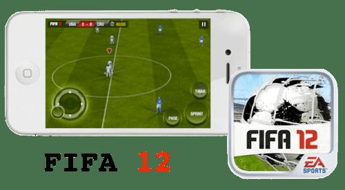 fifa 12 ios FIFA 12 para iOS, un juego para los amantes del fútbol [Reseña]