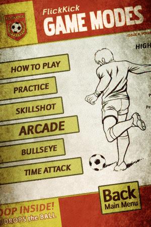 Flick Kick Football, anota los mejores goles en tu iPod [Reseña] - flick-kick-football-juego