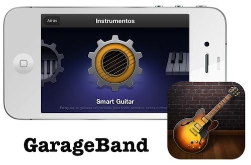 garageband ios Una App para probar esta semana: GarageBand, ideal para los músicos y los no tan músicos