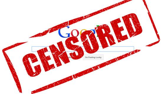 ¿Qué es SOPA y por qué es tan peligrosa su aprobación en EEUU? - google-censored-censorship-sopa