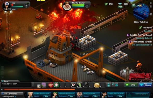 Gunshine Net El Primer Juego Rpg Multijugador Online En Tiempo Real