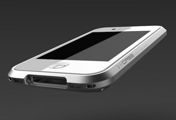 i+Case, un bumber de aluminio digno para tu iPhone - i+case-bumber-aluminio-iphone