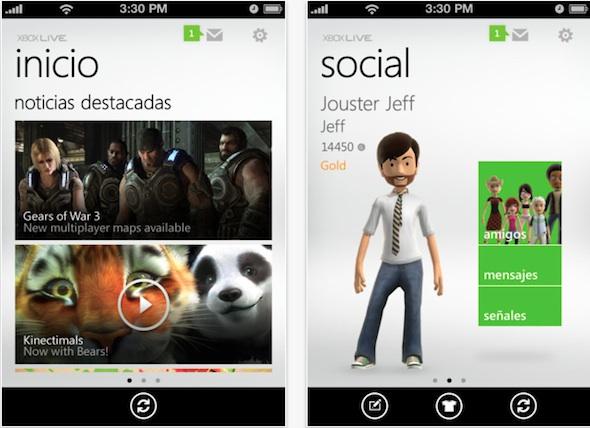 My xbox live app Microsoft publica la aplicación oficial de Xbox Live para iOS