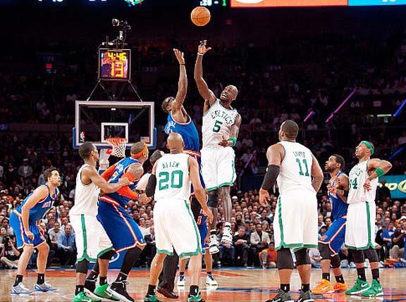 celtics knicks1 Cómo ver todos los partidos de la NBA por 2 semanas en NBA.TV