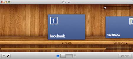 Comparte tus mejores momentos esta Navidad con Courier para Mac [Reseña] - courier-mac-facebook