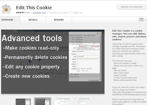 Cómo activar la nueva barra de navegación de Google - edith-this-cookie