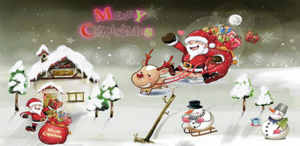 merry christmas live wallpaper Colección de Live Wallpapers navideños para Android