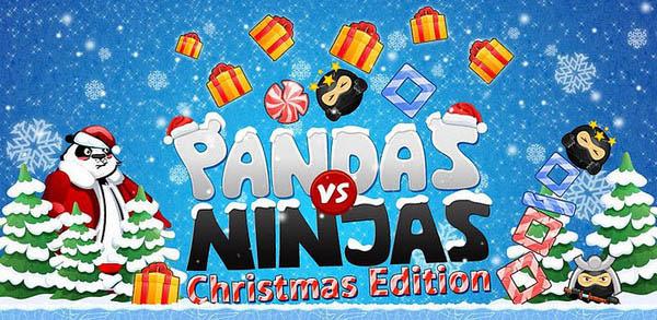 pandas vs ninjas Los mejores juegos de Navidad para Android
