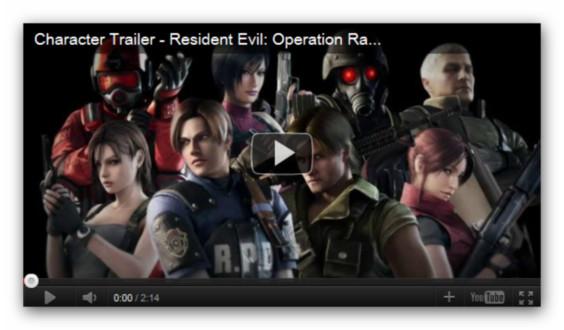 resident evil operation racoon city trailer Resident Evil: Operation Racoon City nos presenta a sus personajes en el nuevo tráiler