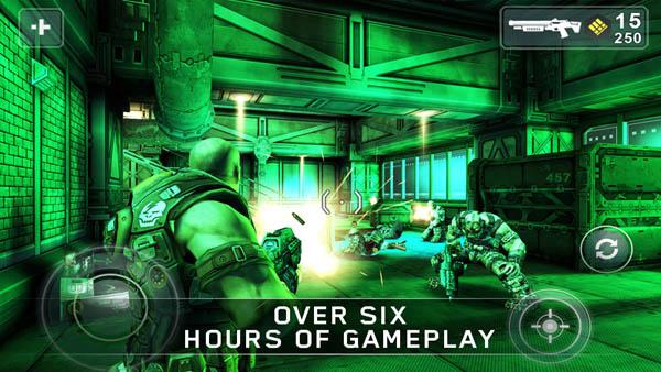 shadowgun Los mejores cinco juegos compatibles con móviles y tablets Nvidia Tegra