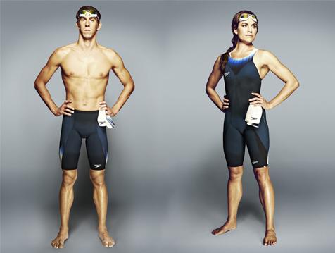 Speedo promete revolucionar la natación con Speedo Fastskin3 Racing System - speedo-phelps